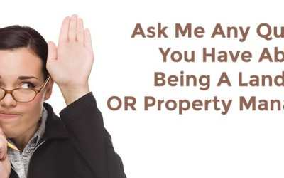 Ask Us Anything About Being A Landlord For Your Rental Property