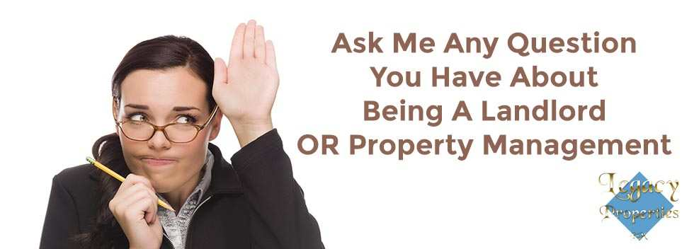 ask me a landlord property management question